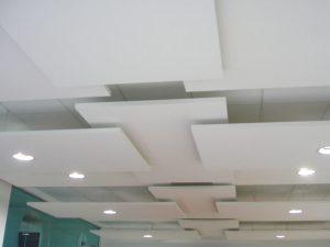Подвесной потолок Ecophon Экофон вариант дизайна 2