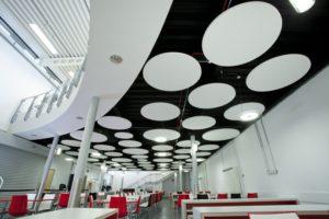 Подвесной потолок Ecophon Экофон вариант дизайна 3