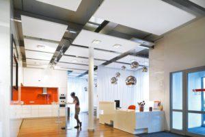 Подвесной потолок Ecophon Экофон вариант дизайна 1