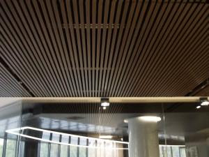 V-Baffle ceilings amtt-2